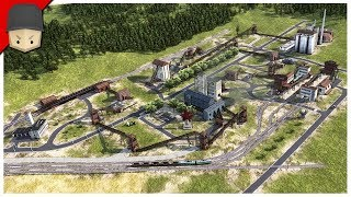THE INDUSTRIAL AREA! - Workers & Resources: Soviet Republic (CITY BUILDER TYCOON GAME)
