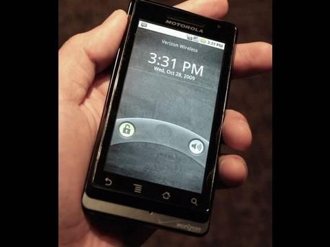 Motorola Droid Unboxing