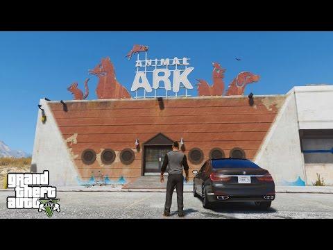 GTA 5 REAL LIFE MOD#37-VISITING THE ANIMAL PET SHOP