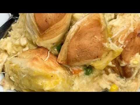 Chicken Casserole With Biscuits