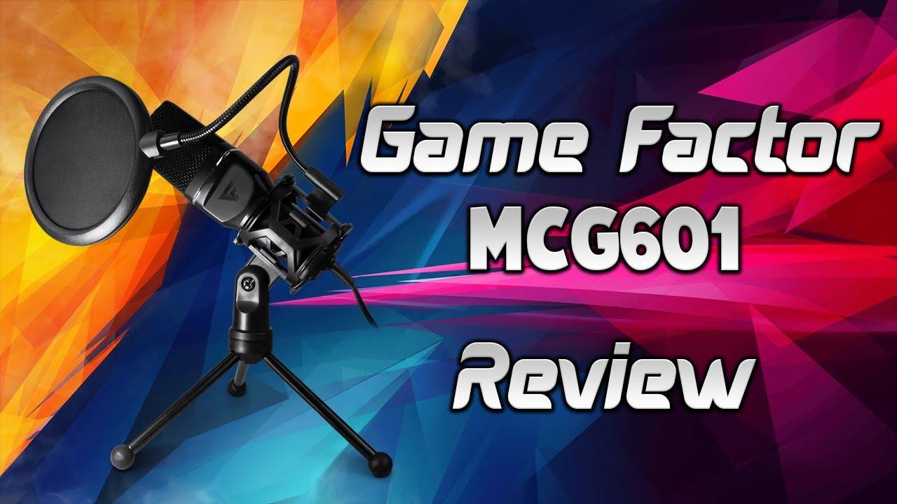 Micrófono 🎙 Game Factor MCG601 review ¿El mejor micrófono para empezar?