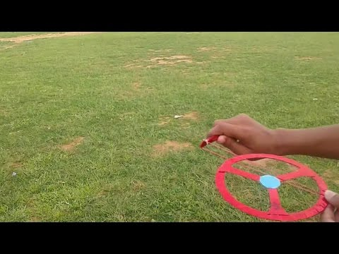 How To Make A Super Flying Paper Spinner || Spinning Top Helicopter || You Can Do This