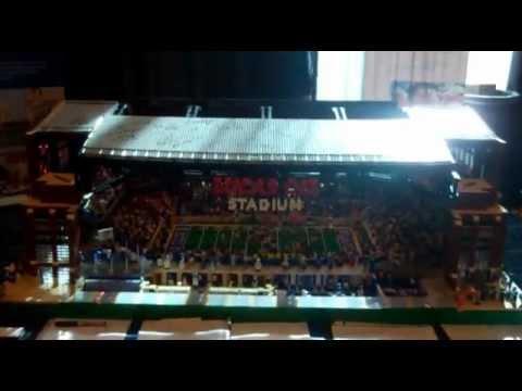 Lego Lucas Oil Stadium for Super Bowl XLVI; Interview with creator Brian Alano