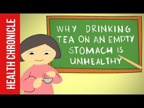 Side Effects of Drinking TEA in the MORNING