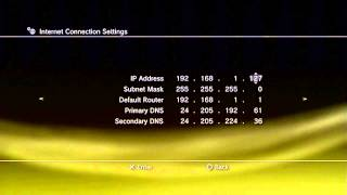 How To Get Faster Internet On PS3 (Static IP)
