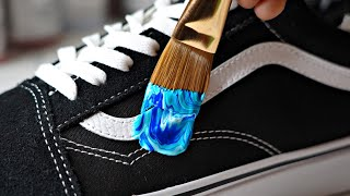 Customizing VANS! 👟🎨 for my High School TEACHER !!