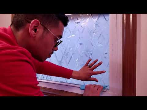 Window Privacy Film Installation And Review In 4K!