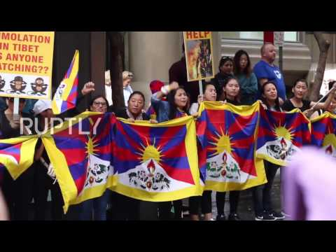 Australia: Protests and fanfare as Premier Li Keqiang gets mixed reception in Sydney