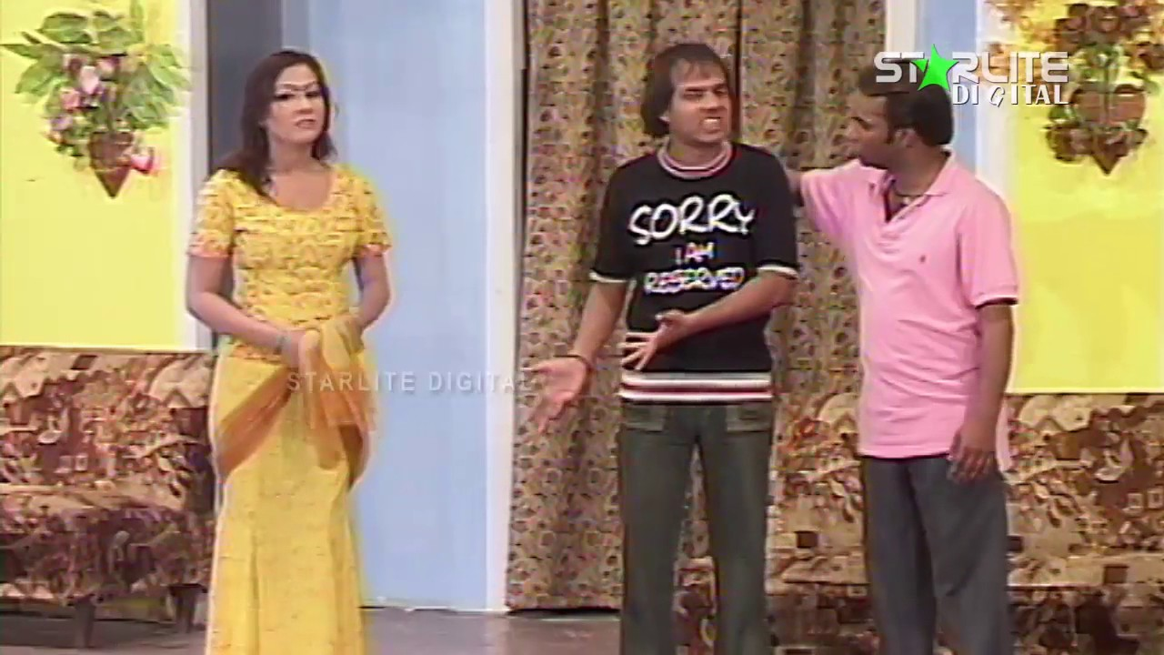 Kam Kar Kar Ke New Pakistani Stage Drama Full Comedy Funny Clip
