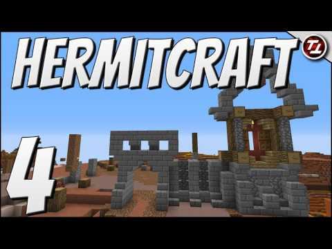 HermitCraft 4 - Minecraft: Interior Design For An Old West Train Station