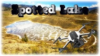 """Cloudy's Life-The """"Spotted"""" Lake in Osoyoos from KARMA Drone"""