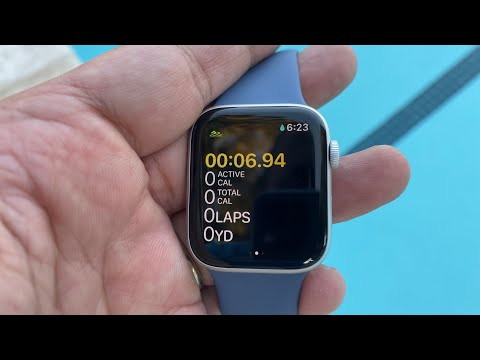 2019 Apple Watch Series 5 LTE/GPS Pool Test (Watch Before Getting In The Water)