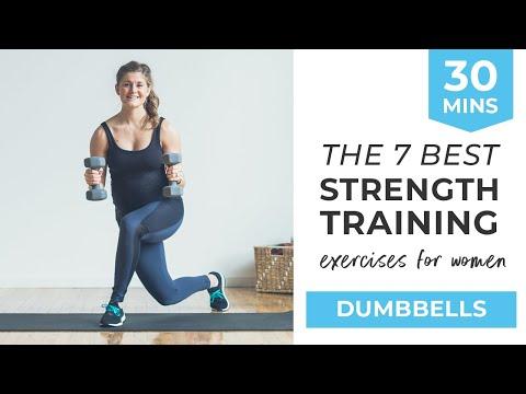 7 Best Strength Training Exercises for Women   7 Dumbbell Exercises for Women