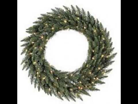 Large Artificial Christmas Wreaths