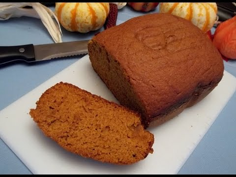 Gluten Free Pumpkin Bread Machine Recipe