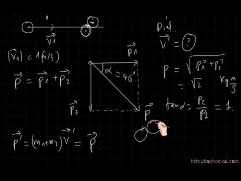 [Vật lí 10 cơ bản và nâng cao] Chương 4- Bài 31- Phần 2 Mô Phỏng Định luật bảo toàn động lượng