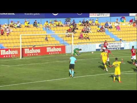 Resumen de AD Alcorcón vs Gimnàstic de Tarragona (1-0)