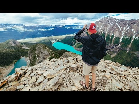LAKE LOUISE, HIKING DEVILS THUMB!! - YouTube on