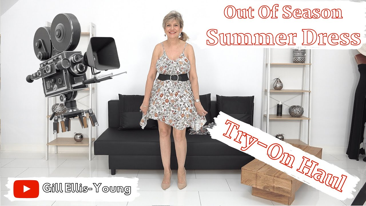 Gill Ellis-Young – Summer Dress Try-On Haul // Out of season dresses for the busy mum