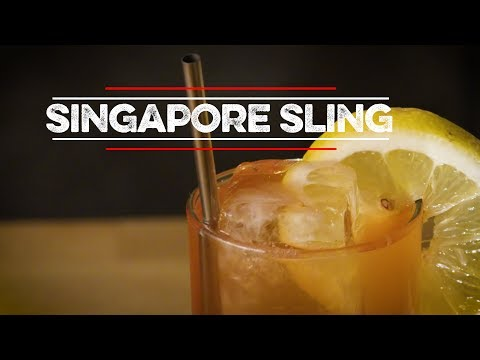 How to Drink: Singapore Sling