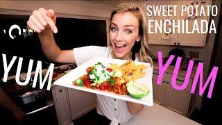 SUPER EASY- Sweet Potato Enchilada Recipe!
