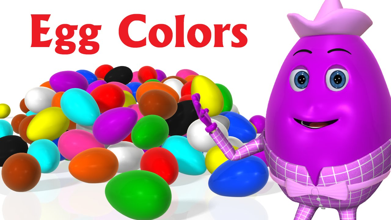 Learn Colors for children - Learning Colors For Kids Toddlers - 3D Surprise Eggs Colour Songs