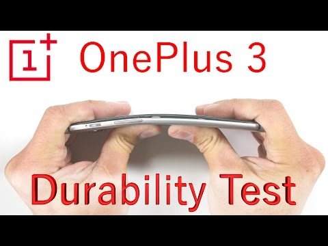 Thumbnail: OnePlus 3 Bend Test - Scratch Test - Burn Test - Durability video