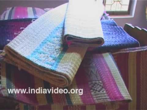 Kora grass mat weaving at Killlimangalam