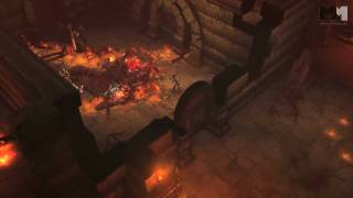 Diablo III | gameplay clip part 1 Blizzcon 2010