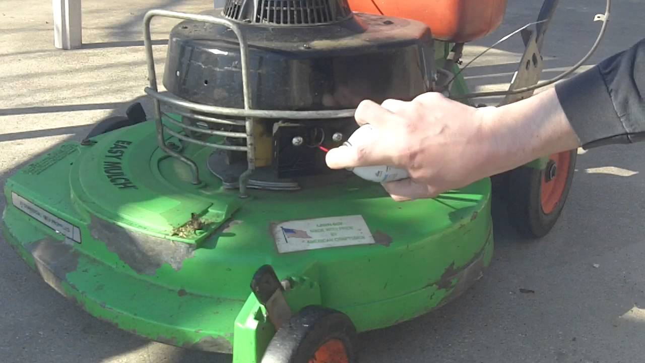 How To Seafoam A Lawnmower