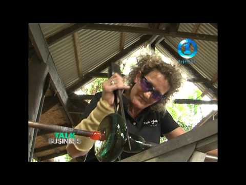 FIJI GLASS BLOWING  & ROCK CLIMBING - TALK BUSINESS