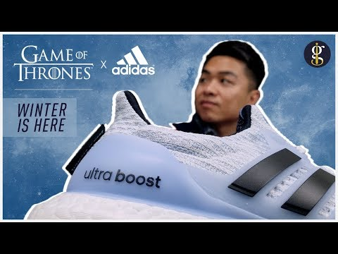 Adidas UltraBoost x Game of Thrones Unboxing (White Walker & Night's Watch Edition)