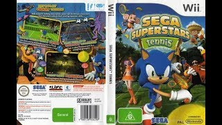 Sega Superstars Tennis (Wii)