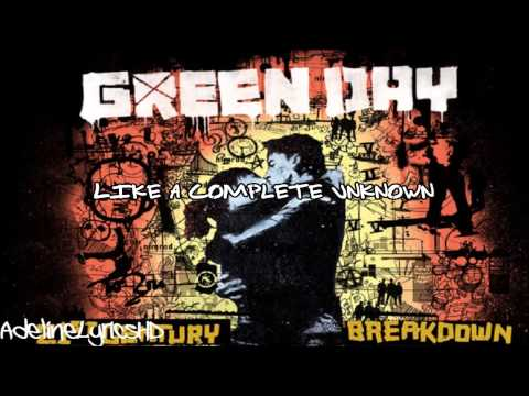 Green Day - Like A Rolling Stone (Bob Dylan Cover) - Lyrics