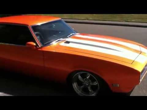 1968 Camaro Orange White Stripes House Of Kolor Tangelo Youtube
