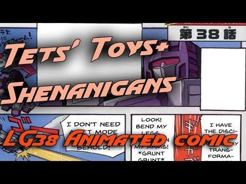 LG38 Apeface & Laserbeak Animated Legends comic!