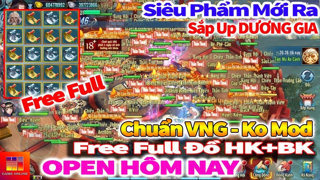 Game Private | VLTK Mobile Lậu 20 Phái: Free Full Đồ HK+BK, Chuẩn VNG, Sắp Up Dương Gia, Open s1