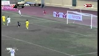 thanh ha 2 1 shb đ nẵng vng 1 toyota v league 2015