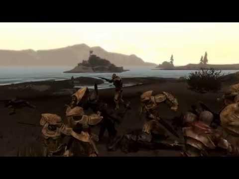 Skyrim Battles - RETRO - Captain Veleth & 11 Redoran Guards vs The Morag Tong [Master Settings]