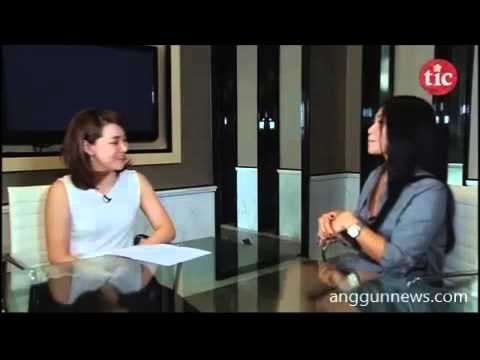 Anggun interviewed by Louisa Kusnandar for The Indonesia Channel