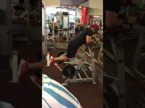 Posterior Chain Workout on 17.05.2017 @FitnessFirst, Dubai