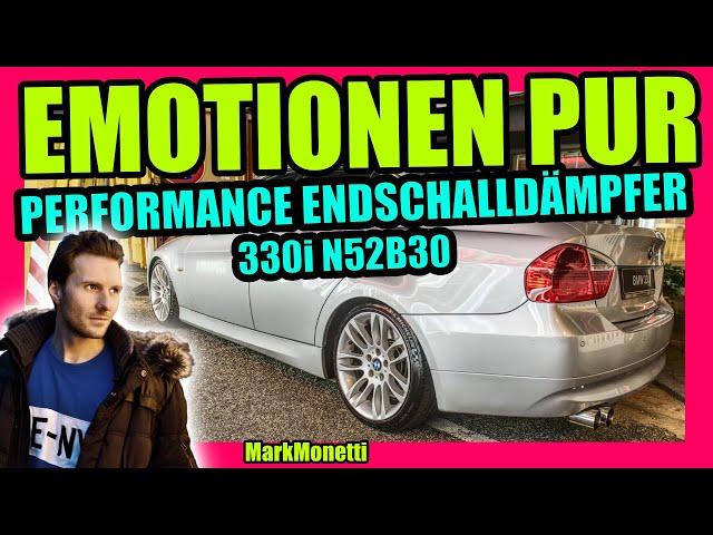EMOTIONEN PUR | Performance ESD + 330i N52B30 | MarkMonetti