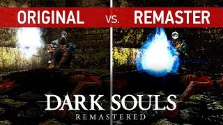 Dark Souls Remastered Comparison - Original (Xbox 360) vs. Remaster (PS4 Pro)