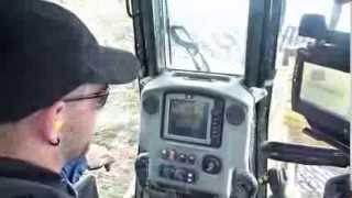 gps ditch ride along caterpillar d6n