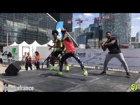Buscando Huellas - Major Lazer (ft J Balvin & Sean Paul)Remix Zumba®Choreo Siddy avec Jose et Fabien