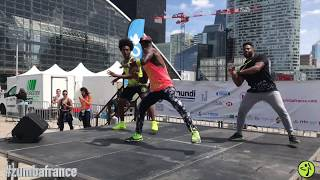 Buscando Huellas - Major Lazer (ft J Balvin & Sean Paul)Remix Zumba®Choreo Siddy avec Jose et Fabien
