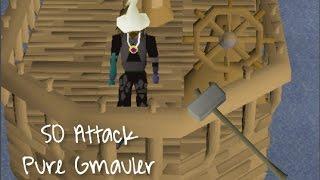 gandhi lifestyle of a pker   osrs pk vid 3   50 attack gmauler
