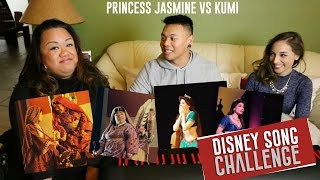 Disney Song Challenge - Princess Jasmine vs Kumi | AJ Rafael