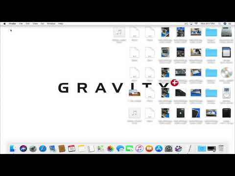 Gravity Guides - Clean Desktop