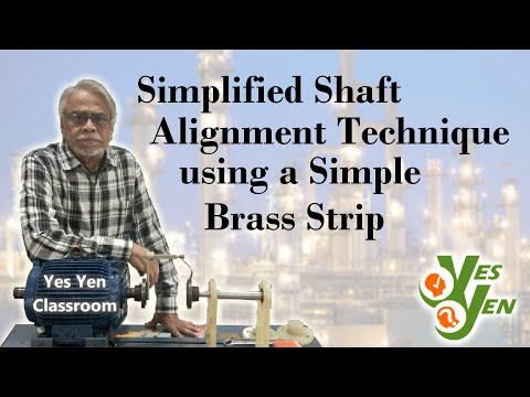 Shaft Alignment Technique Using A Brass Strip, Class: 01